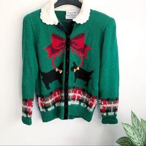 Vintage Marisa Christina ugly Christmas sweater